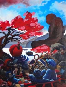 Right of the Sakura